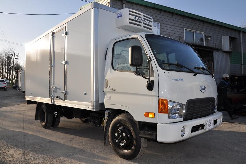 Фото: грузовик рефрижератор HYUNDA…