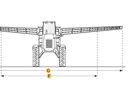 Опрыскиватель TA 2400 132ft