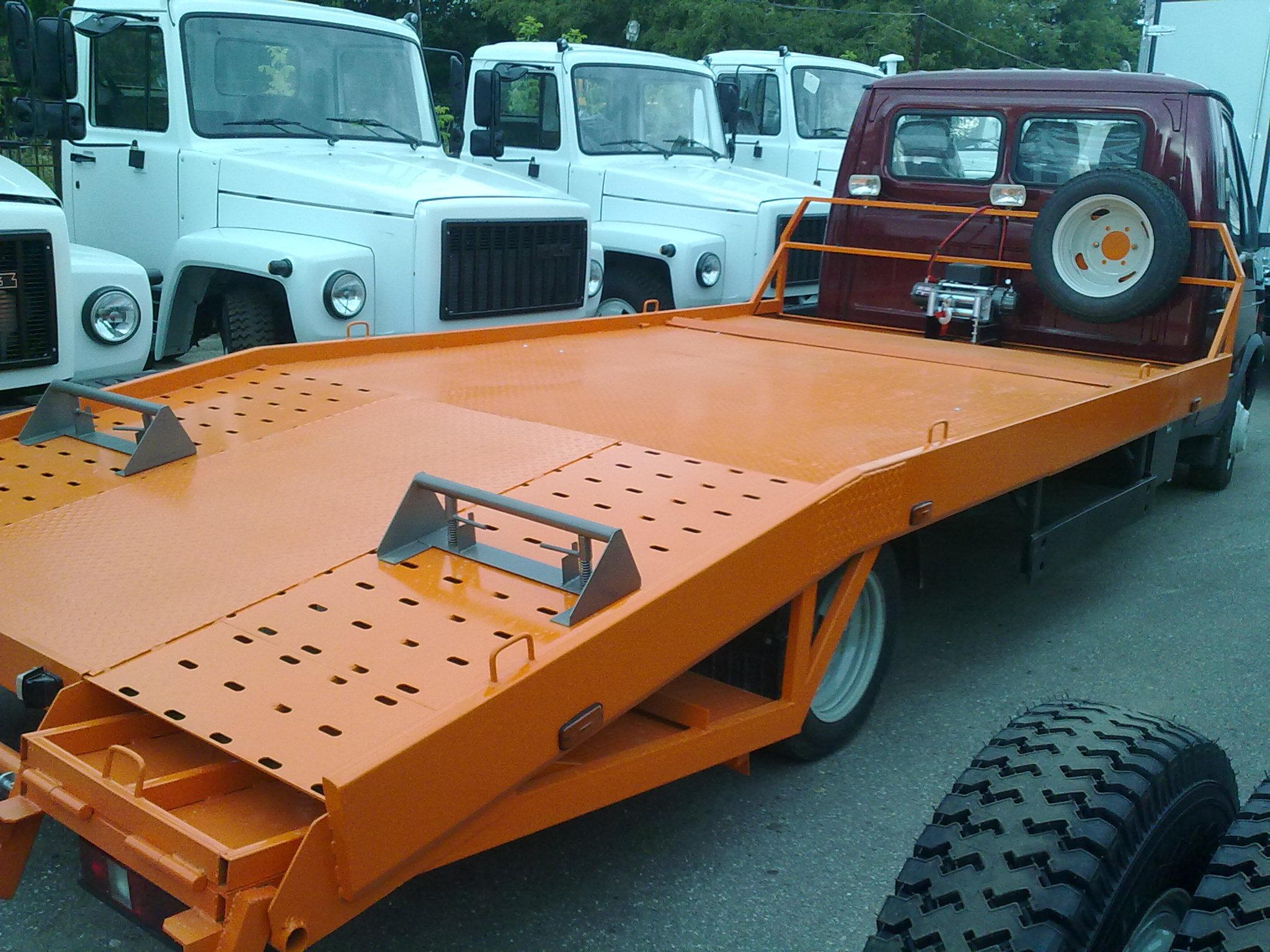 Аппарель для грузовиков своими руками